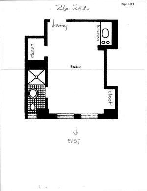 floorplan for 5 Tudor City Place #1126