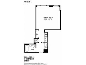 floorplan for 37 West 21st Street