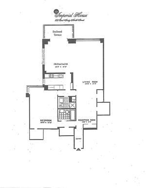 floorplan for 150 East 69th Street #7L