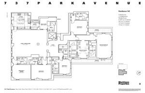 floorplan for 737 Park Avenue #14E