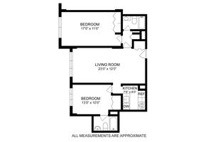 floorplan for 220 East 65th Street #PHK