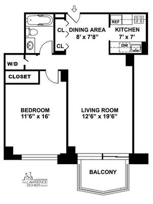 floorplan for 220 East 65th Street #24D