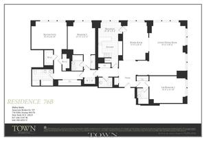 floorplan for 845 United Nations Plaza #76B