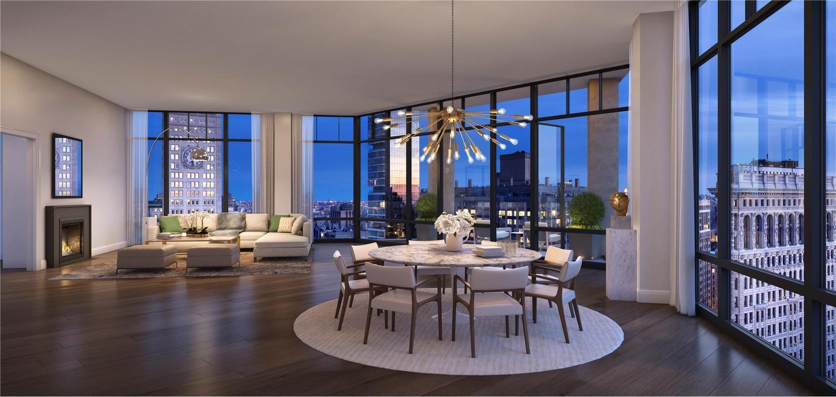 10 madison square west phfl22 condo apartment sale in for Penthouses for sale in manhattan