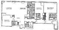 floorplan for 845 United Nations Plz #82C