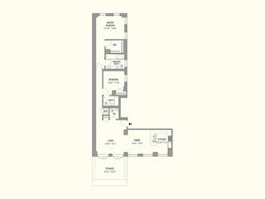 floorplan for 55 West 17th Street #1501