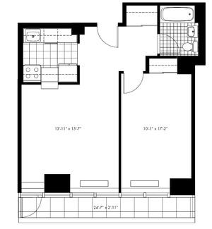 floorplan for 50 Murray Street #0019