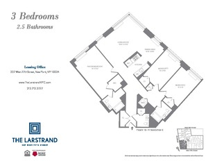 floorplan for 227 West 77th Street #10G