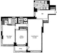 floorplan for 30 East 85th Street #7B