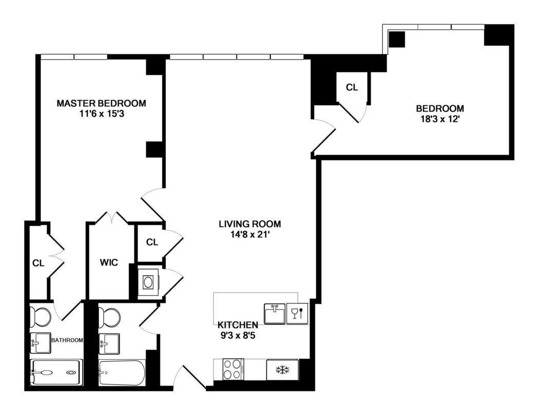 Floor Plan St Avenue