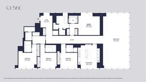 floorplan for 157 West 57th Street #47C