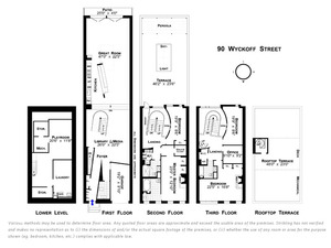 floorplan for 90 Wyckoff Street