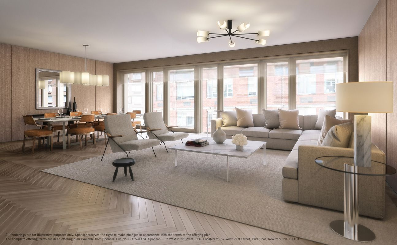 the twenty 1 at 117 west 21st st in chelsea sales rentals