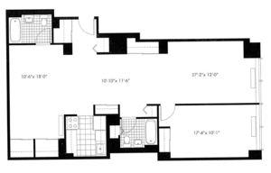 floorplan for 50 Murray Street #008