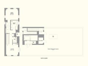 floorplan for 55 West 17th Street #1801