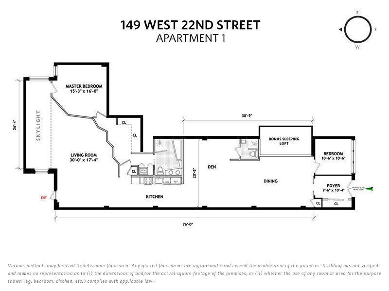 Streeteasy 147 West 22nd Street In Chelsea 1 Sales