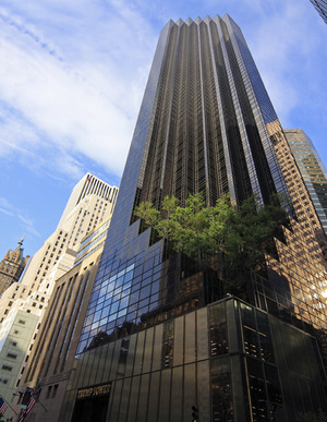 Trump Tower at 721 Fifth Avenue in Midtown