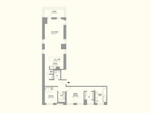 floorplan for 55 West 17th Street #1601