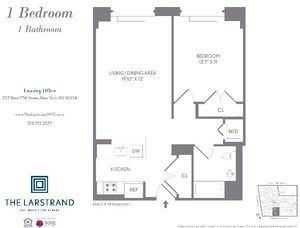 floorplan for 227 West 77th Street #4F