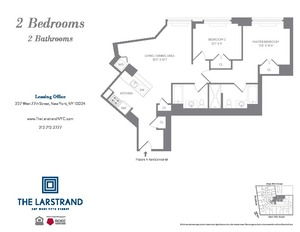 floorplan for 227 West 77th Street #14M